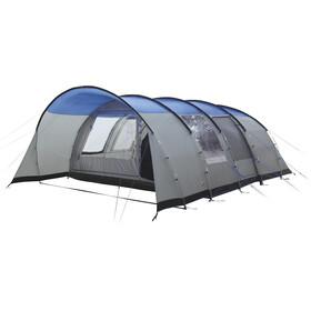 High Peak Leesburg 6 tent grijs/blauw